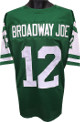 Broadway Joe Namath New York Jets unsigned TB Green Prostyle Jersey XL