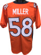 Von Miller Denver Broncos unsigned Orange Prostyle Jersey XL