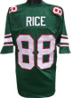Jerry Rice unsigned Green TB Custom Stitched Football Jersey XL