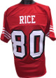 Jerry Rice unsigned Red w/ Shadow #'s TB Custom Stitched Pro Style Football Jersey XL