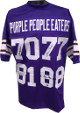 Alan Page signed Purple People Eaters Purple TB Custom Stitched Pro Style Football Jersey XL- 4 sigs- PPE Holo