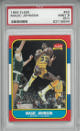 Magic Johnson Los Angeles Lakers 1986-87 Fleer #53 PSA Mint 9 Graded Basketball Card