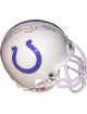 Johnny Unitas signed Baltimore Colts Riddell Authentic Mini Helmet- Beckett Hologram