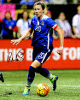 Abby Wambach signed 8X10 Photo (Dribbling Ball-Women's Soccer Team USA Olympics)