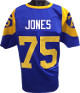 Deacon Jones unsigned Blue TB with Yellow #'s Custom Stitched Pro Style Football Jersey XL