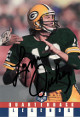 Lynn Dickey signed Green Bay Packers 1991 QB Legends Football Card #9