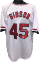 Bob Gibson signed White TB Custom Stitched Baseball Jersey XL- JSA Hologram