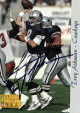 Troy Aikman signed Dallas Cowboys 1993 Classic Football Trading Card #1