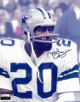 Mel Renfro signed Dallas Cowboys 8x10 Photo- Mounted Hologram