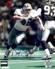 Daryl Johnston signed Dallas Cowboys 8x10 Photo #48 minor scuff- Mounted Hologram