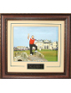 Jack Nicklaus unsigned 2005 British Open Farewell 16X20 Custom Framed V-Groove Premium Matting