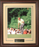 Jack Nicklaus unsigned 1986 Masters Champion 16X20 Photo Leather Framed V-Groove Premium Matting