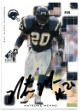 Natrone Means signed 1999 Upper Deck SP Signature San Diego Chargers Football Trading Card - NM
