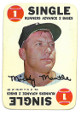 Mickey Mantle 1968 Topps New York Yankees Baseball Game Card