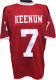 Case Keenum signed Red TB Custom Stitched College Football Jersey XL- JSA Hologram