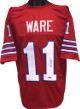 Andre Ware signed Red TB Custom Stitched College Football Jersey '89 (Heisman) XL- Tri-Star Hologram
