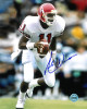 Andre Ware signed Houston Cougars 8x10 Photo (red jersey-Heisman)