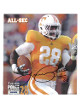 Tauren Poole signed Tennessee Volunteers All SEC 8.5x11 Photo #28