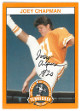 Joey Chapman signed Tennessee Volunteers 100th Anniversary Football Trading Card #3 (Punter #20)