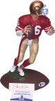 Joe Montana signed San Francisco 49ers 1991 Gartlan Figurine/Statue (red jersey) LTD 1660/2250- Beckett Hologram #C91837
