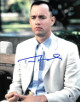 Tom Hanks signed Forrest Gump 11x14 Photo (Vertical Close Up)- Beckett Holo #C95892
