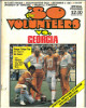 Tennessee Volunteers vs Georgia Bulldogs College Football Game Program- September 6, 1980- cover wear-minor stains