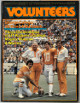 Tennessee Volunteers 1980 Football Media Guide/Program- minor cover wear