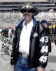 Richard Petty signed NASCAR 8X10 Photo (Close Up in Black Jacket)