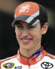 Joey Logano signed NASCAR Home Depot 8x10 Photo (close up)