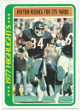 Walter Payton Chicago Bears 1978 Topps Football Trading Card #3
