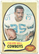 Calvin Hill Dallas Cowboys 1970 Topps Football Trading Card #260