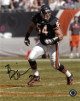 Brian Urlacher signed Chicago Bears 8x10 Photo #54 (navy jersey)- Schwartz Sports Hologram