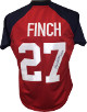 Jennie Finch signed Red Olympic Team USA Custom Stitched Softball Jersey 04 Gold XL- JSA Witnessed Hologram