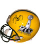 Aaron Rodgers signed Green Bay Packers/Super Bowl XLV Logo Full Size Replica Helmet SB XLVI MVP- PSA/JSA/BAS Guaranteed To Pass
