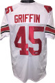 Archie Griffin signed White TB Custom Stitched College Football Jersey HT 1974/75 XL- PSA Hologram #S75925