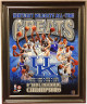 Dan Issel signed Kentucky Wildcats All-Time Greats 16x20 Photo Custom Framed- PSA/JSA/BAS Guaranteed To Pass