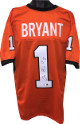 Dez Bryant signed Orange Custom Stitched College Football Jersey #1 XL- PSA Hologram #X27740