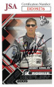Denny Hamlin signed NASCAR 2006 Press Pass Racing Trading Card #70- JSA Hologram #DD39276