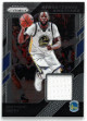 Draymond Green Golden State Warriors 2018-19 Panini Prism Game Used Jersey Sensational Swatches Basketball Card #2