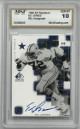 "Ed ""Too Tall"" signed Dallas Cowboys 1999 SP Signature Edition Card #EJ- Mint Graded 10 Gem MT"