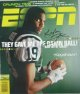 Keyshawn Johnson signed New York Jets ESPN Magazine