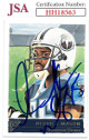 Derrick Mason signed 2001 Topps Gallery Football Card #75- JSA #HH18563 (Tennessee Titans)