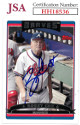 Bobby Cox signed 2006 Topps Baseball Card #267- JSA #HH18536 (Atlanta Braves)
