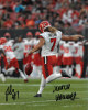 Jamie Gillan signed Cleveland Browns 8x10 Photo #7 Scottish Hammer