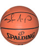 Shawn Kemp signed Spalding NBA Game Ball Series I/O Basketball – JSA Witnessed (Seattle Supersonics)