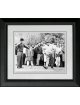 Jackie Gleason unsigned 8x10 Photo Custom Framed w/ Palmer