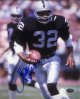 Marcus Allen signed Raiders 8x10 Photo HOF 03- Allen Hologram