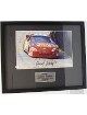 Darrell Waltrip signed 11x14 Custom Framed Photo slight scratch