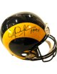 Eric Dickerson signed Los Angeles Rams Full Size Full Size Replica Helmet HOF 99