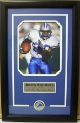 Barry Sanders Unautographed Detroit Lions 8x10 Photo Logo Framed